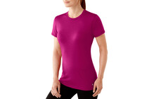 Smartwool Women's Microweight Tee berry